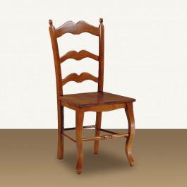 Sedia sagomata con fondino in legno