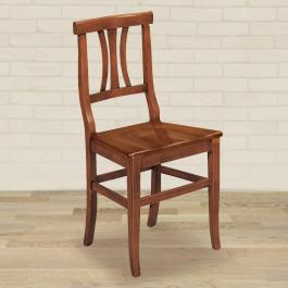 Sedia 3 stecche fondino in legno