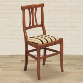 Sedia 3 stecche con fondino in stoffa