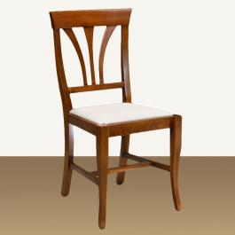Sedia stecche sagomate con fondino in stoffa