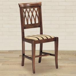 Sedia archi con fondino in stoffa