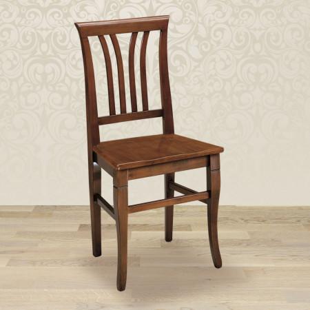 Sedia 4 stecche con fondino in legno