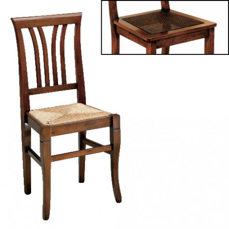 Sedia stecche fondino paglia di vienna