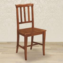 Sedia profili con fondino in legno