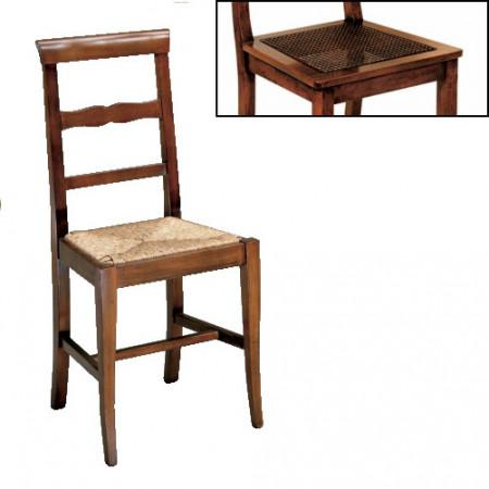 Sedia 2 stecche fondino in paglia di vienna
