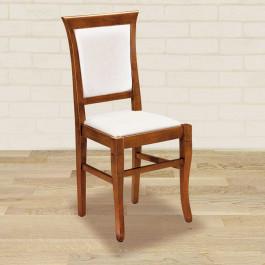 Sedia fondino e schienale in stoffa