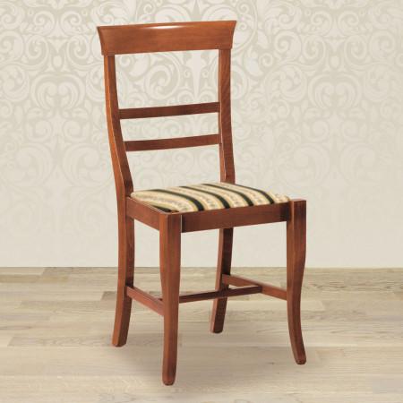 Sedia leggera con fondino in stoffa