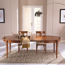 Tavolo ovale allungabile 160/250x110