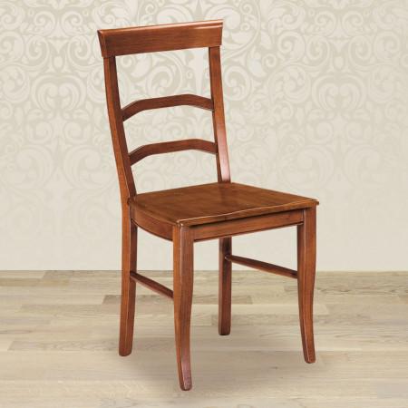 Sedia arco con fondino in legno