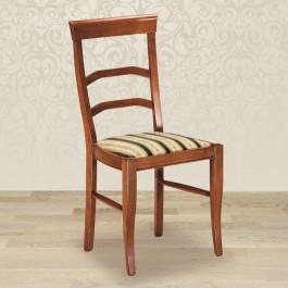 Sedia arco con fondino in stoffa