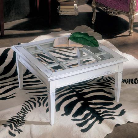 Tavolino da salotto con griglia