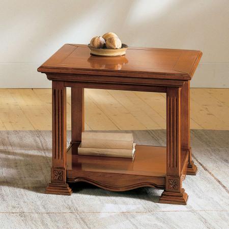 Tavolino quadrato stile impero
