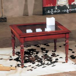 Tavolino rettangolare a bacheca