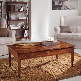 Tavolino da salotto con cassetto