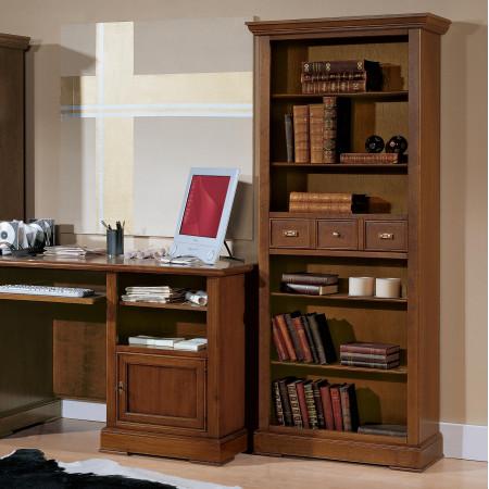 Librerie in legno 1 cassetto
