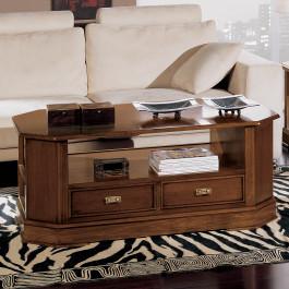 Tavolino esagonale 2 cassetti