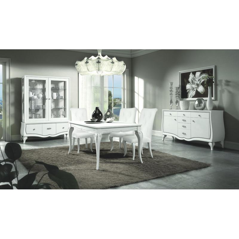 Sala da pranzo in stile classico contemporaneo for Mobili in stile contemporaneo