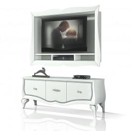Composizione porta tv e 1 base 3 cassetti