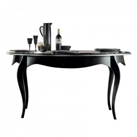 Tavolo da pranzo ovale allungabile 180/220