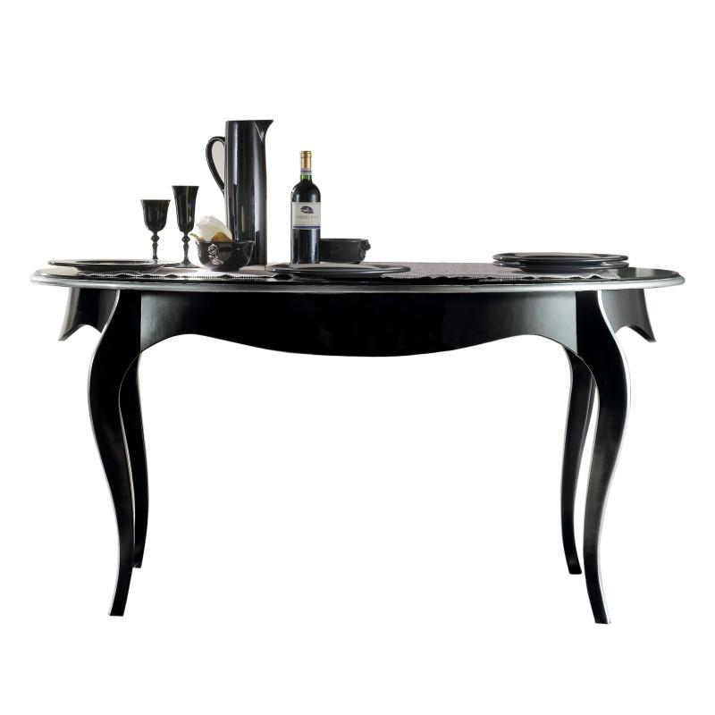 Tavoli Da Cucina Allungabili Classici.Tavolo Da Pranzo Ovale Allungabile 180 220
