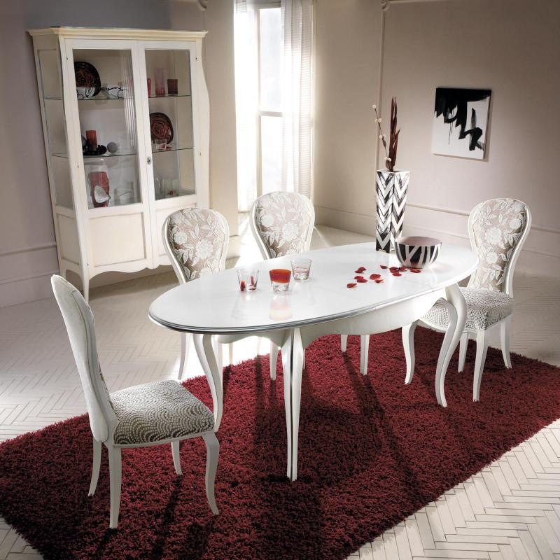 Tavoli Ovali Da Cucina.Tavolo Da Pranzo Ovale Allungabile 160 200x90