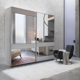 Armadio uffizi con specchi semplici