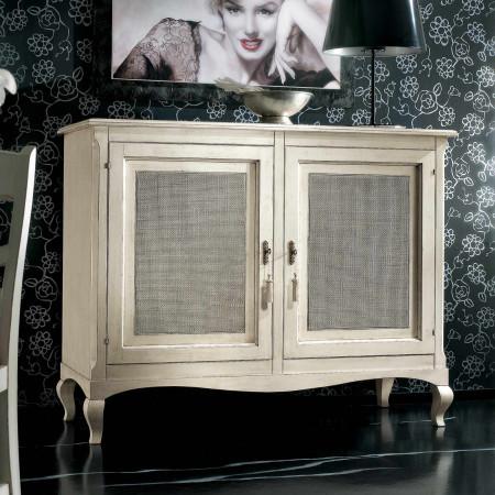 Credenza 2 porte classica in legno