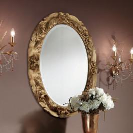 Specchiera ovale foglia similoro