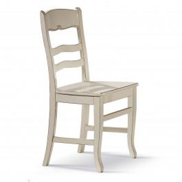 Sedia lusy con fondo in legno