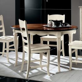 Tavolo ovale allungabile 140/190x110 bianco