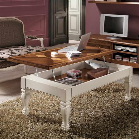 Tavolino piano rialzabile