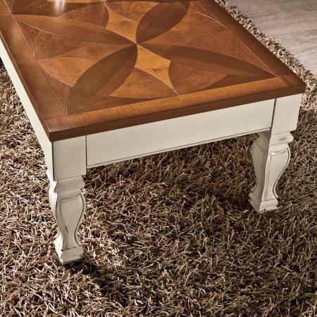 Tavolino quadrato piano rialzabile