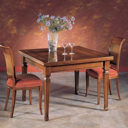 Tavolo rettangolare 180/280x100 con filetto