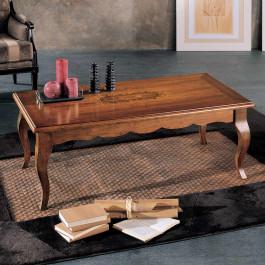 Tavolino 130x70 intarsio madreperla