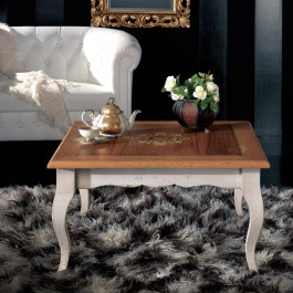 Tavolino 700 90x90 intarsio madreperla