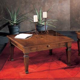 Tavolino 90x90 intarsio madreperla