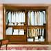 Camera da letto classica con armadio