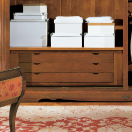 Cassettiera aggiuntiva 3 cassetti per armadio Dogi di Venezia