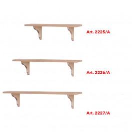 Mensola in legno di abete da cm 100