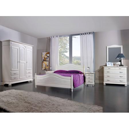 Camera in legno di abete massello