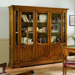 Libreria 3 porte con bugne