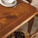 Tavolo quadrato allungabile 120/170x120 intarsiato