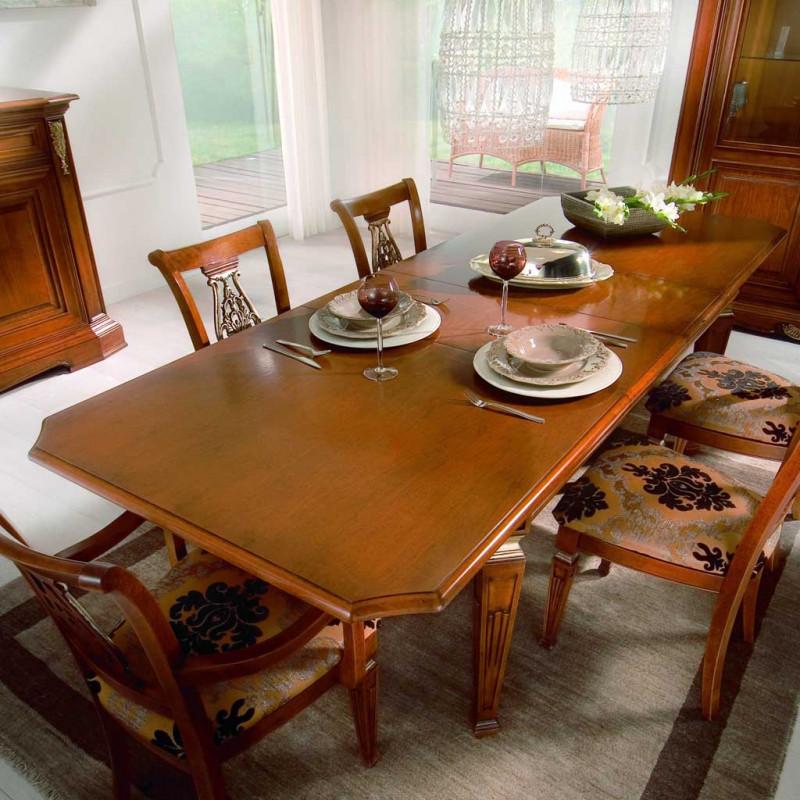 Sala da pranzo classica con particolari oro - Sala da pranzo classica ...