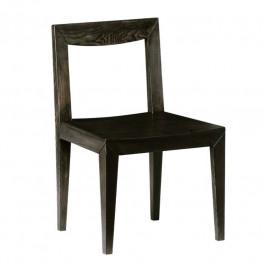 Sedia in frassino con fondino in legno