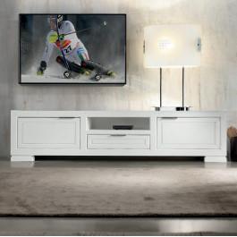 Porta tv con 2 ante e un cassetto