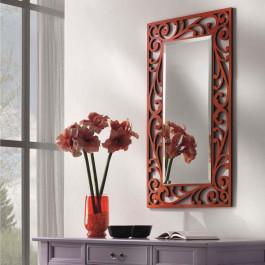 Specchiera con specchio molato