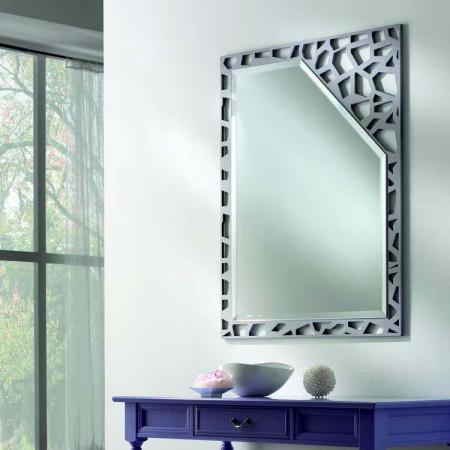 Specchio moderno di design - Specchio argento moderno ...