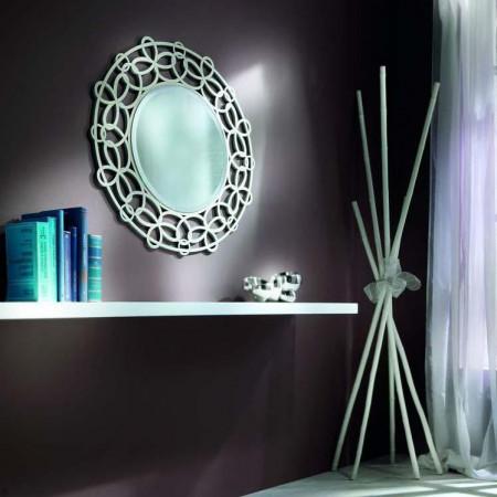 Specchio rotondo moderno