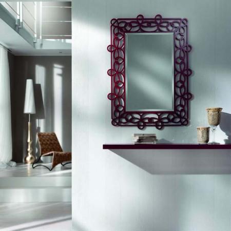 Specchio di design laccato