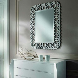 Specchio moderno con nodi